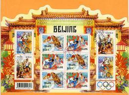N°YT 122 - Jeux Olympiques De Pékin - 2008 - Blocs & Feuillets
