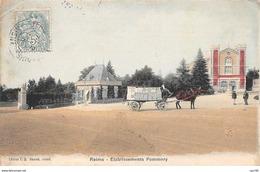 51. N° 103540 .reims .etablissement Pommery . - Reims