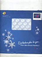 Pap  Noel Cerf Catalogue Phil@poste + Enveloppe Reponse T - Prêts-à-poster: Other (1995-...)