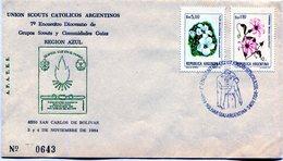 UNION SCOUTS CATOLICOS ARGENTINOS 7° ENCUENTRO DIOCESANO DE GRUPOS SCOUTS Y COMUNIDADES GUIAS - NTVG. - Padvinderij