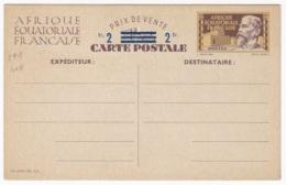 AEF Entier Posta  Carte Postale CP1 - A.E.F. (1936-1958)