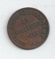 Monnaie Nécessité Liege-café Grand Balçon-10c - Monétaires / De Nécessité