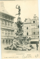 Anvers; Fontaine Brabo - Non Voyagé. (G. Hermans - Anvers) - Antwerpen