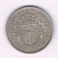 HALF CROWN 1951 SOUTHERN RHODESIA  ZIMBABWE /1601/ - Rhodesië