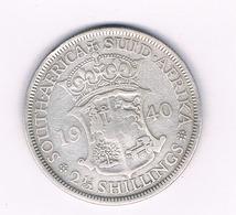 2 1/2 SHILLINGS 1940 ZUID AFRICA /1602/ - Zuid-Afrika