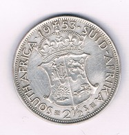 2 1/2 SHILLINGS 1953 ZUID AFRICA /1603/ - Zuid-Afrika
