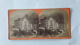 FRANKRIJK FRANCE CHAMONIX MONT BLANC HOTEL IMPERAIL - Fotos Estereoscópicas