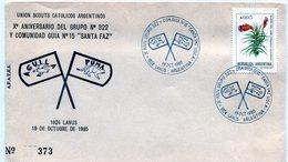 UNION SCOUTS CATOLICOS ARGENTINOS X° ANIVERSARIO DEL GRUPO N° 322 Y COMUNIDAD GUIA N° 15 SANTA FAZ - NTVG. - Padvinderij