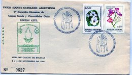 UNION SCOUTS CATOLICOS 7° ENCUENTRO DIOCESANO DE GRUPOS SCOUTS Y COMUNIDADES GUIAS REGION AZUL - NTVG. - Padvinderij