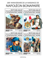 Central Africa. 2019 250th Anniversary Of The Birth Of Napoleon Bonaparte. (1010a) OFFICIAL ISSUE - Napoleon