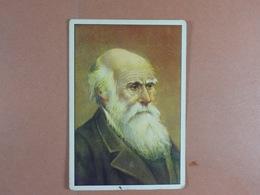 Gutermann? (8,7 Cm X  6 Cm) Personnages Célèbres Charles Darwin /47/ - Cromo