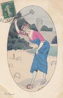 Xavier SAGER (Illustrateur): Le Croquet - Sager, Xavier