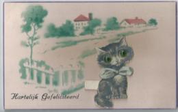 Chat - Cat - Kat - Katze - DRGM 902749 - Weco Nr 11107 - Chats