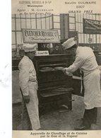 PARIS - SALON CULINAIRE - Fletcher Russell And Co - Appareil De Chauffage Et De Cuisine Par Le Gaz Et La Vapeur - 1907 - Matériel