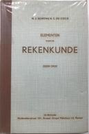 (28) Elementen Van De Rekenkunde - De Procure - Schons & De Cock - 1961 - 421p. - Books, Magazines, Comics