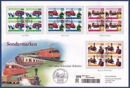 150 Jahre Schweizer Bahnen (G020) - Bahnwesen