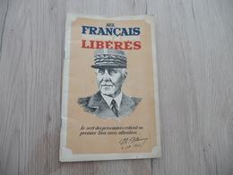 Plaquette Propagande Pétain Aux Français Prisonniers De Guerre Libérés 34 Pages - Dokumente