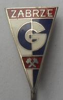 GÓRNIK ZABRZE, POLAND FOOTBALL CLUB, SOCCER / FUTBOL / CALCIO PINS BADGES P3/8 - Voetbal