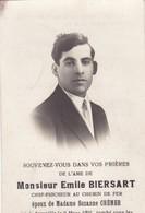 Aywaille Souvenir E Biersart Soldat Belge Tué Au Combat Tirlemont 11 Mai 1940 - Dokumente