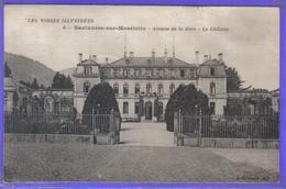 Carte Postale 88. Saulxures-sur-Moselotte  Le Chateau Avenue De La Gare Très Beau Plan - Saulxures Sur Moselotte