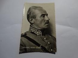 Général Henri Guisan. - Personajes