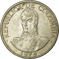 Monnaie, Colombie, Peso, 1978, TTB, Copper-nickel, KM:258.2 - Colombie
