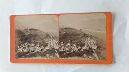 ZWITSERLAND SUISSE  THUSIS - Fotos Estereoscópicas