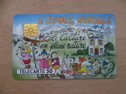 TELECARTE 50 U 1000 EX L'ECOLE RURALE ST SIGISMOND  HAUTE SAVOIE - 50 Unités