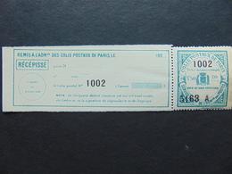 Colis Postaux De Paris Pour Paris N°. 116 Complet Neuf - Neufs