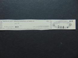 Colis Postaux De Paris Pour Paris N°. 122 Complet Neuf - Neufs