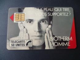 TELECARTE  BIOTHERM 50 U   UTILISEE - France