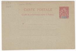 Ets Oceanie Entier Postal  Carte Postale CP5 Sans Date - Lettres & Documents