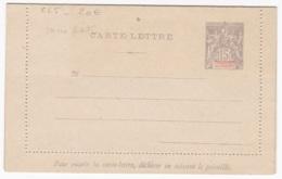 Ets Oceanie Entier Postal  Carte Lettre  CL5 15c Gris Sans Date - Lettres & Documents