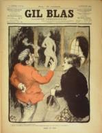 GIL BLAS-1901/29-GRUN-GUY D'ERBOY-HUGUES LAPAIRE-POULBOT - Livres, BD, Revues