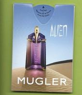 MUGLER * ALIEN * PUFFER - Cartoline Profumate