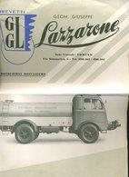 290 CAMION SERVIZIO INNAFFIAMENTO CITTA DI CAGLIARI , COSTIPAMENTO VERBANIA E PINEROLO BREV. GLG - Documents Historiques