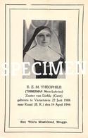 E.Z.M. Theophile - Timmerman Maria-Ludovica - Varsenare - Jabbeke