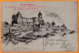 HAUT-KÖENIGSBOURG  -   HOH-KÖENIGSBURG  -  DES ARCHITEKTEN  BODO EBHARDT  -  Juin 1908 - Autres Communes
