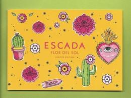 ESCADA * FLOR DEL SOL * POSTCARD + FILMPATCH * V/R - Cartoline Profumate