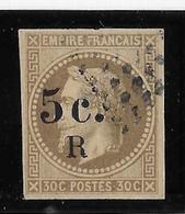 Réunion N°5 - Oblitéré - Léger Pelurage Sinon TB - Réunion (1852-1975)