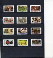 12 Timbres  Adhésifs (pri..)   Oblitérés(2020) ( Effets Papillons ) - Frankreich
