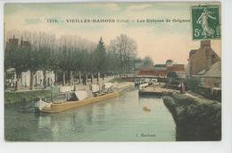 VIEILLES MAISONS - Les Ecluses De Grignon (péniche ) - Frankreich