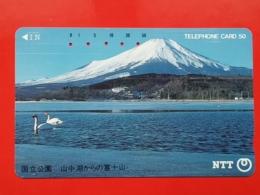 T-124 - JAPAN, TELECARD, MAGNETIC PHONECARD NTT - 250-378 - Japon