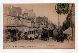 - CPA CALAIS (62) - Boulevard Lafayette 1917 (belle Animation) - Editions Lévy 176 - - Calais