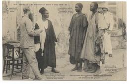 THIES-La Rebellion Du 7.04.1904-Mrs Briffaut, Sarithia Dieye,... Les Accusés Se Plaignent Au Juge...  Animé - Sénégal