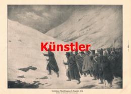 1748 Boislecomte Rambuteaus Alpenübergang 1813 Soldaten Druck 1913 !! - Dokumente