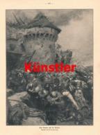 1749 Desvarreur Sturm Auf St. Dizier Soldaten Napoleon Druck 1913 !! - Dokumente
