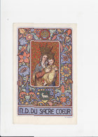 Devotie - Devotion - N.D. Du Sacre Coeur - Lemaire - Images Religieuses