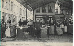 Ostende Marché Aux Poissons - Oostende