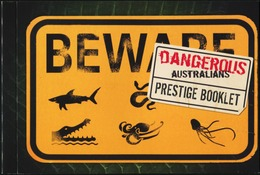 AUSTRALIA 2006 Dangerous Australians Shark Snakes Crocodile Animals Fauna Complete Prestige Booklet Carnet MNH - Snakes